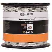 Gallagher, EconomyLine cord (wit, 200 meter)