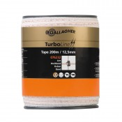 Gallagher, TurboLine lint 12,5 mm (wit, 200 meter)