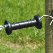 AANBIEDING Poortgreep 3 delig (simpel), zwart, los