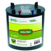 Batterij 163-45501 alkaline Rond