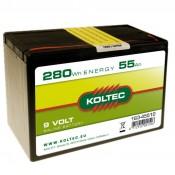 Batterij 163-45510 zink-kool, Klein