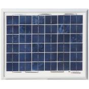 Zonnepaneel 10 Watt incl. laadunit voor Powergard