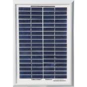 Zonnepaneel 5 Watt voor batterijapparaten en de HS75